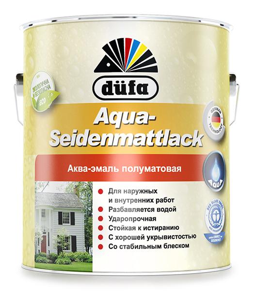Aqua Seidenmattlack