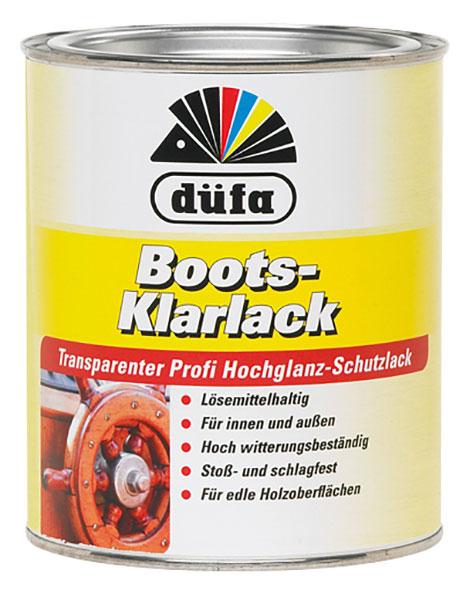 Boots-Klarlack