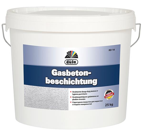 Gasbeton-beschichtung