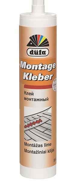Montage Kleber